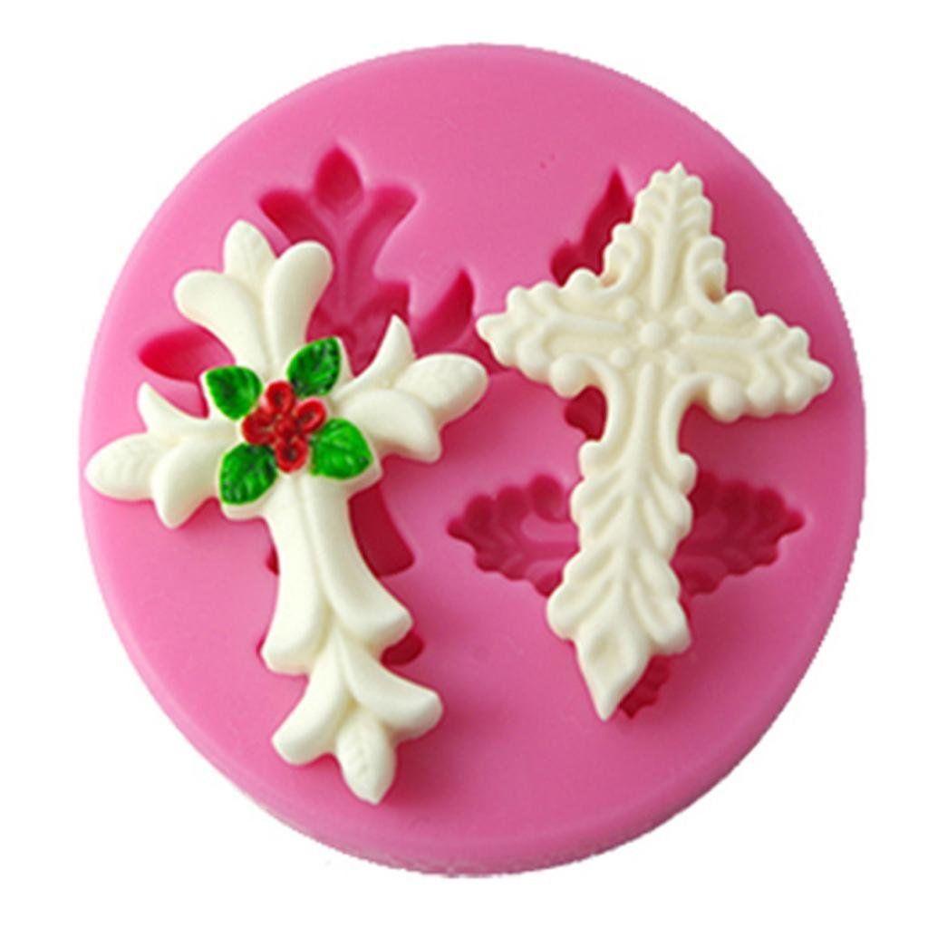 Four-leaf Mold Fondant Sugarcraft Mould Silicone Decorating Flower Shape Cake