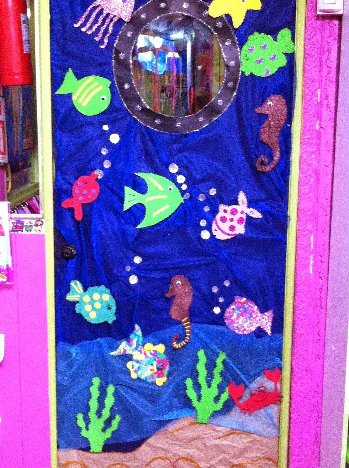 La decoraci n de nuestro jardin infantil en el mes del mar - Decoracion del jardin ...