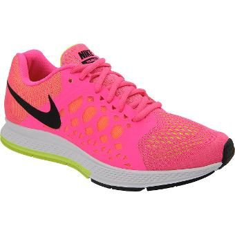 brand new 4e951 4adc7 ... uk womens nike air zoom pegasus 31 running shoes size 8.5 whiteneon  orange 028d1 ad02c