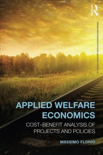 Applied Welfare Economics Cost-Benefit Analysis of Projects and - cost benefit analysis format