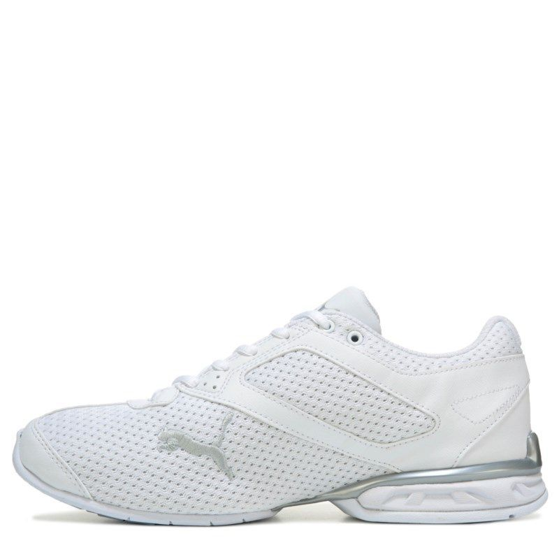 e2431060cb5 Puma Women s Tazon 6 Running Shoes (White Silver Knit)