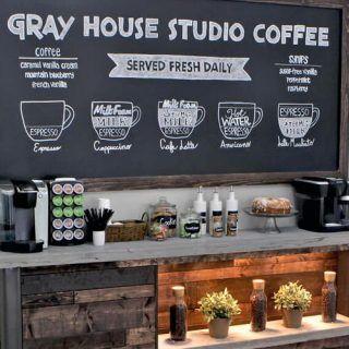 25 Diy Succulent Garden Ideas And Tutorials Diy Coffee Station Diy Halloween Projects Diy Coffee Bar
