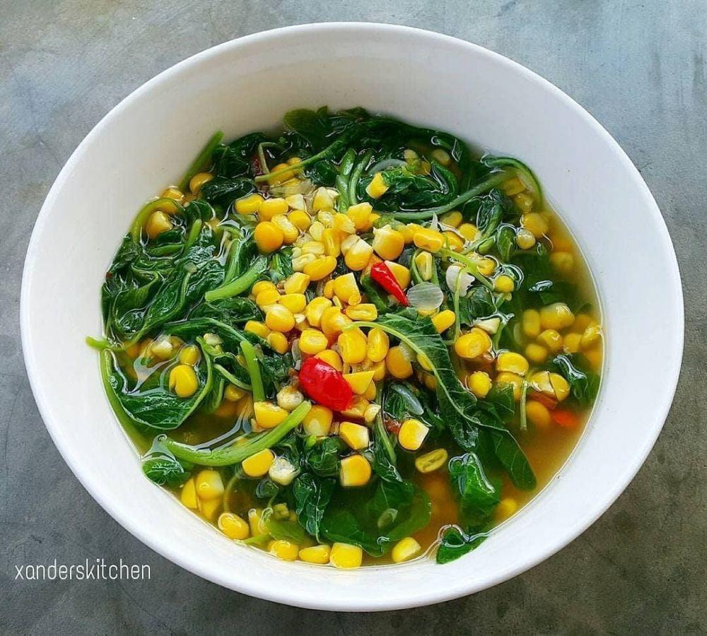 Resep Sayur Berkuah C 2020 Brilio Net Instagram Byviszaj Instagram Sarongsarie Resep Masakan Masakan Vegetarian Sayuran