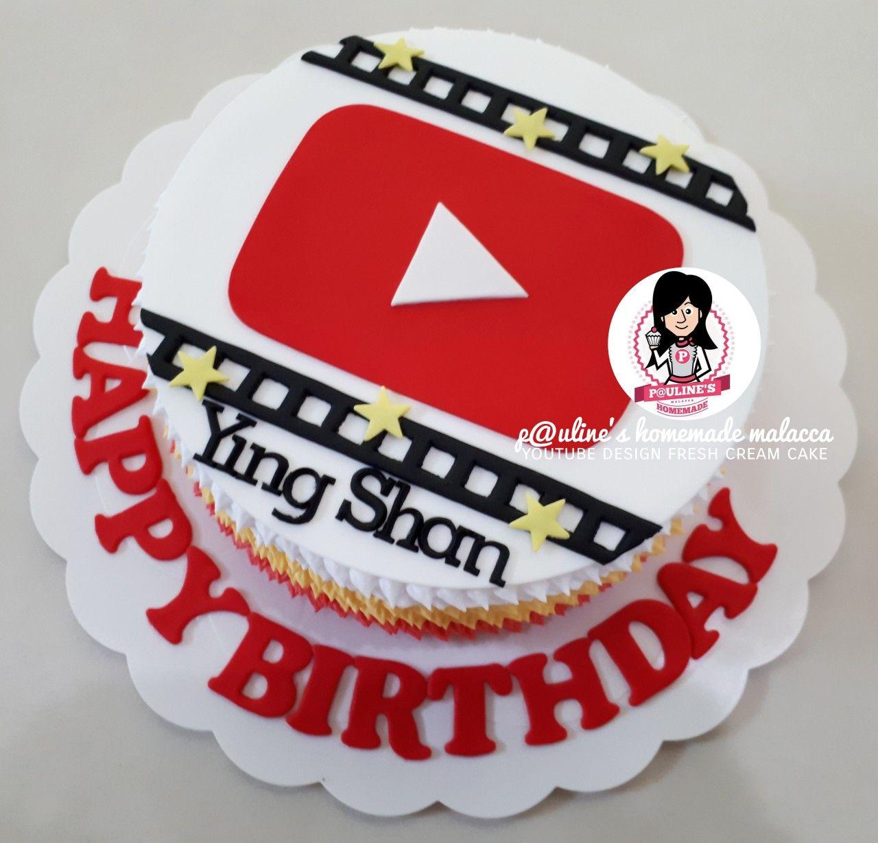 Youtube Design Fresh Cream Cake Paulineshomemademalacca Cake Designs For Kids Fresh Cream Cake