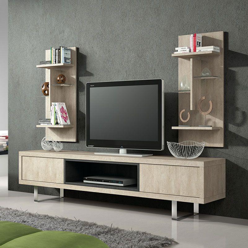 Ensemble Meuble Tv Couleur Beige Contemporain Ensemble Meuble Tv Meuble Rangement Meuble Tv Rangement