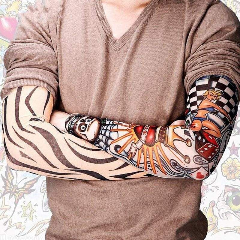 f3ad9d8c9 6 PCS/Set Elastic Nylon Tattoo Sleeves