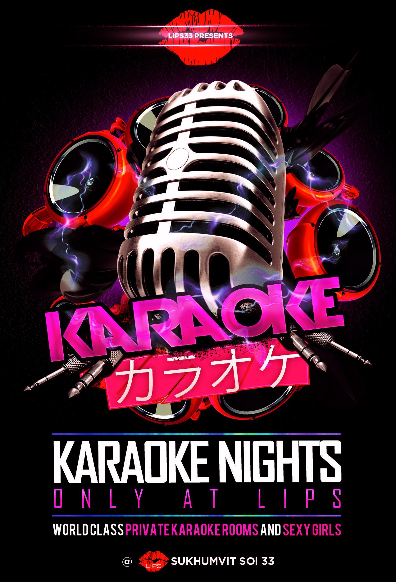 15+ Karaoke flyers info