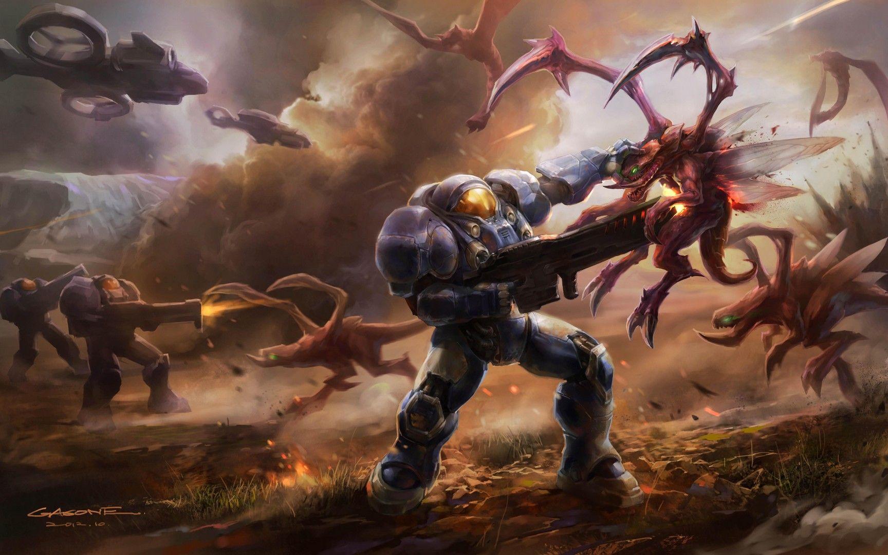 starcraft-2-zerg-wallpapers-best | Игровые арты, Комиксы ...