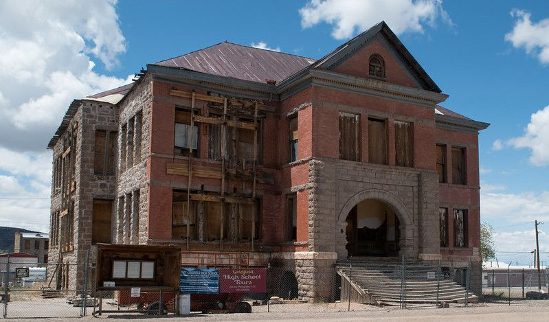 When Is Laughlin Nv Schools Out For Christmas 2020 Rumored To Be Haunted, The Goldfield High School Is The Creepiest
