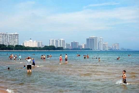 Montrose Beach Chicago Il I Went Swimming There 3