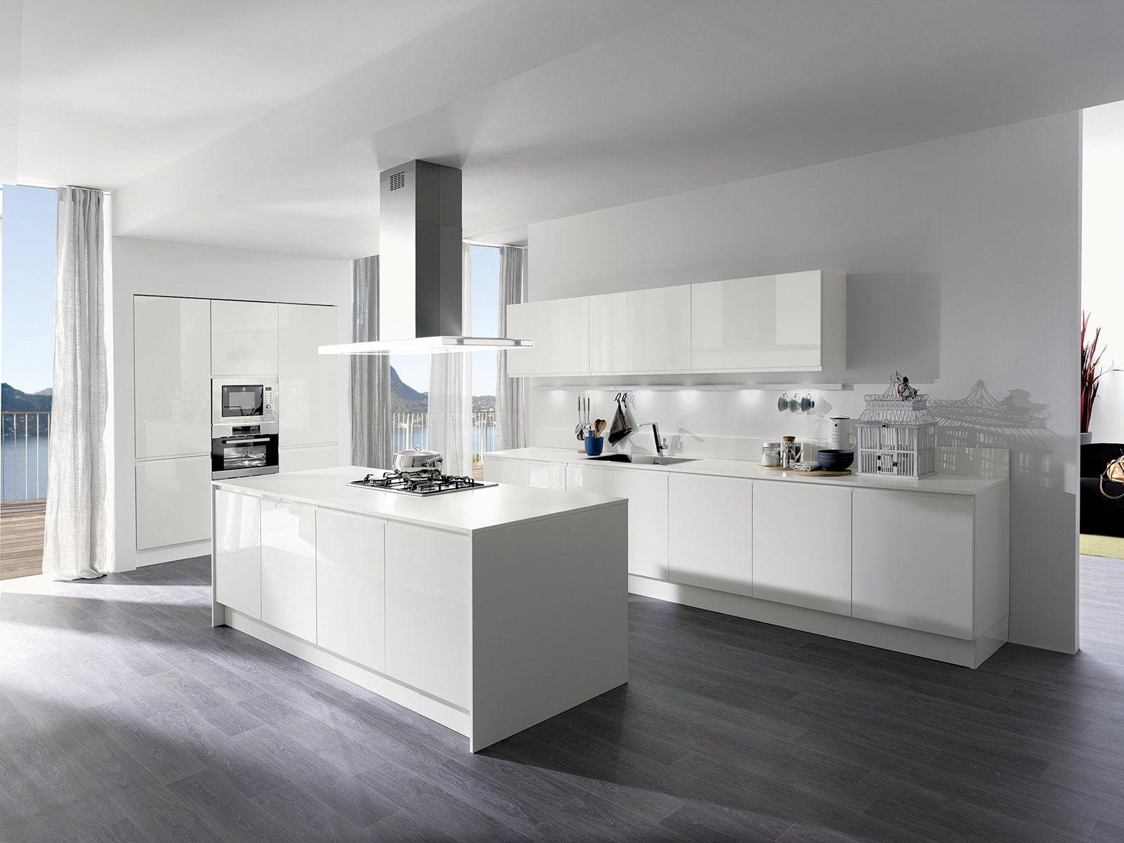Cucina la voglio tutta bianca home pinterest kitchens and house - Cucina tutta bianca ...