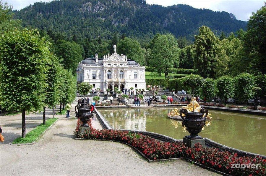 Schloss Und Park Linderhof Ettal House Styles Mansions Design