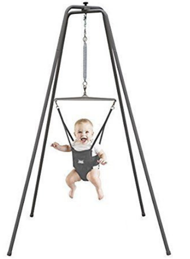 4479f3930465 Jolly Jumper - The Original Baby Exerciser with Super Stand for ...