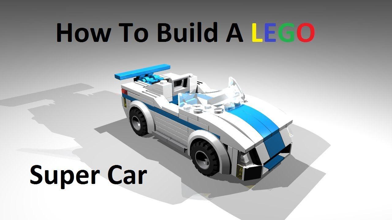 How To Build A Lego Super Car Custom Moc Instructions Lego
