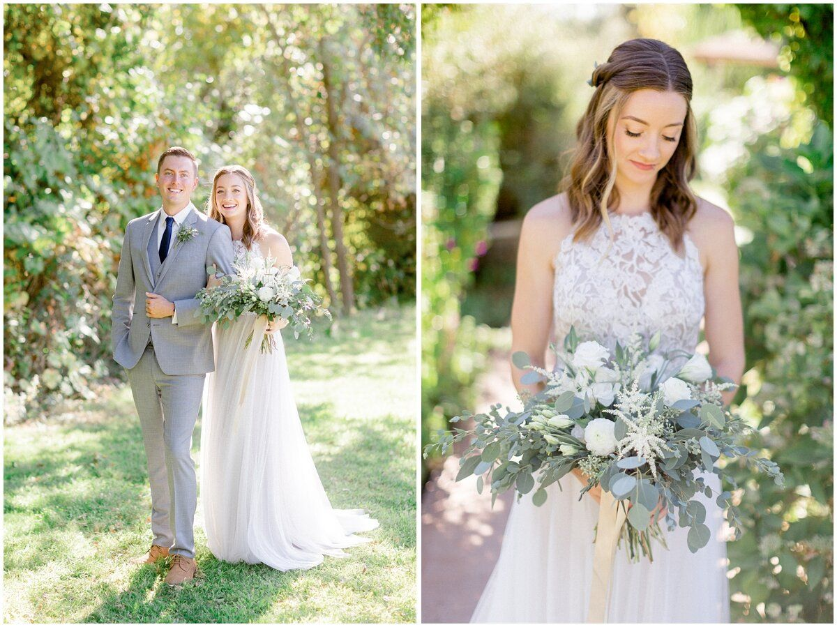 White Ranch Wedding In Chico Ca Devin Claire Bride Groom Photos Ranch Wedding Wedding