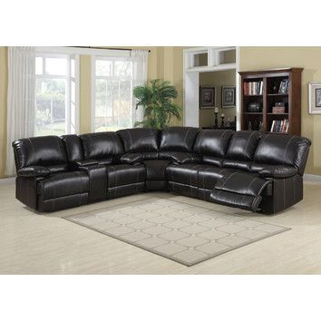 Free Shipping when you buy AC Pacific Kevin Sectional at Wayfair
