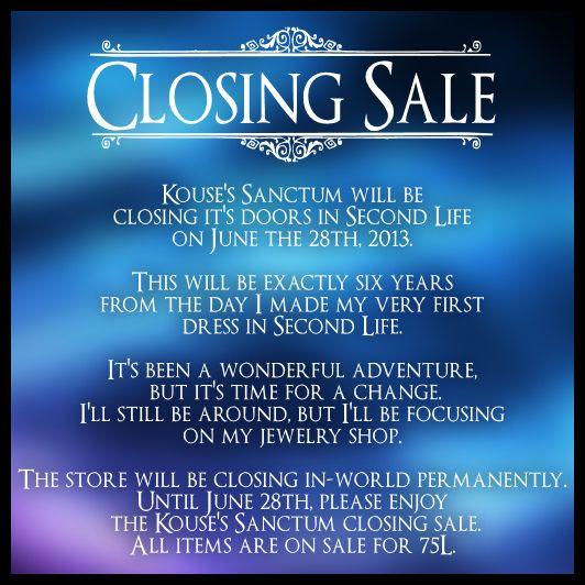 Kouses Sanctum ~ Closing Sale | Flickr - Photo Sharing!