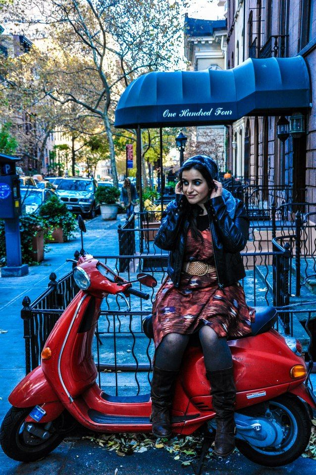 NYC Photo Shoot: Parked Scooter