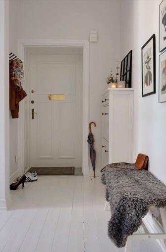 ديكورات مداخل للشقق الصغيرة افكار مهمة لتزيين مداخل المنازل Home Hallway Inspiration House Interior