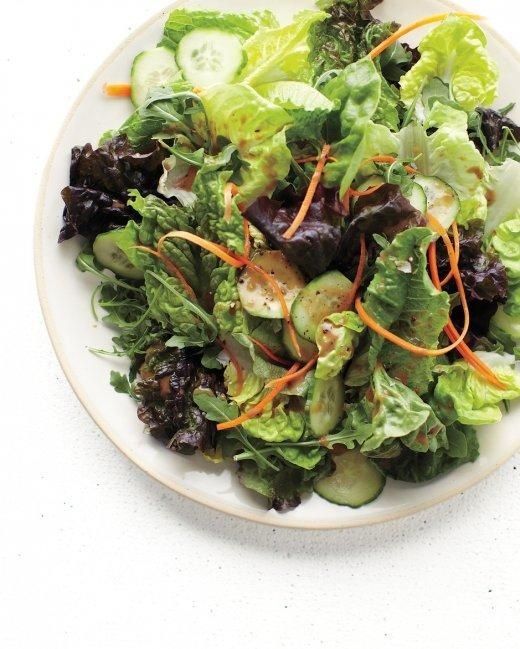 The Ultimate Salad Mix with Carrot, Cucumber, and Balsamic Vinaigrette Recipe