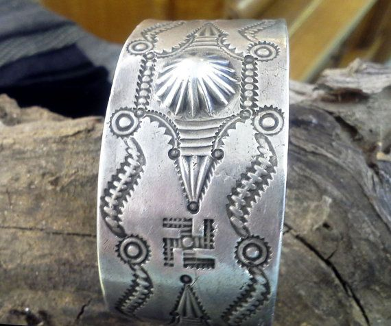 Turn of the Century Coin Silver Bracelet with by SouthwestFindings, $1750.00