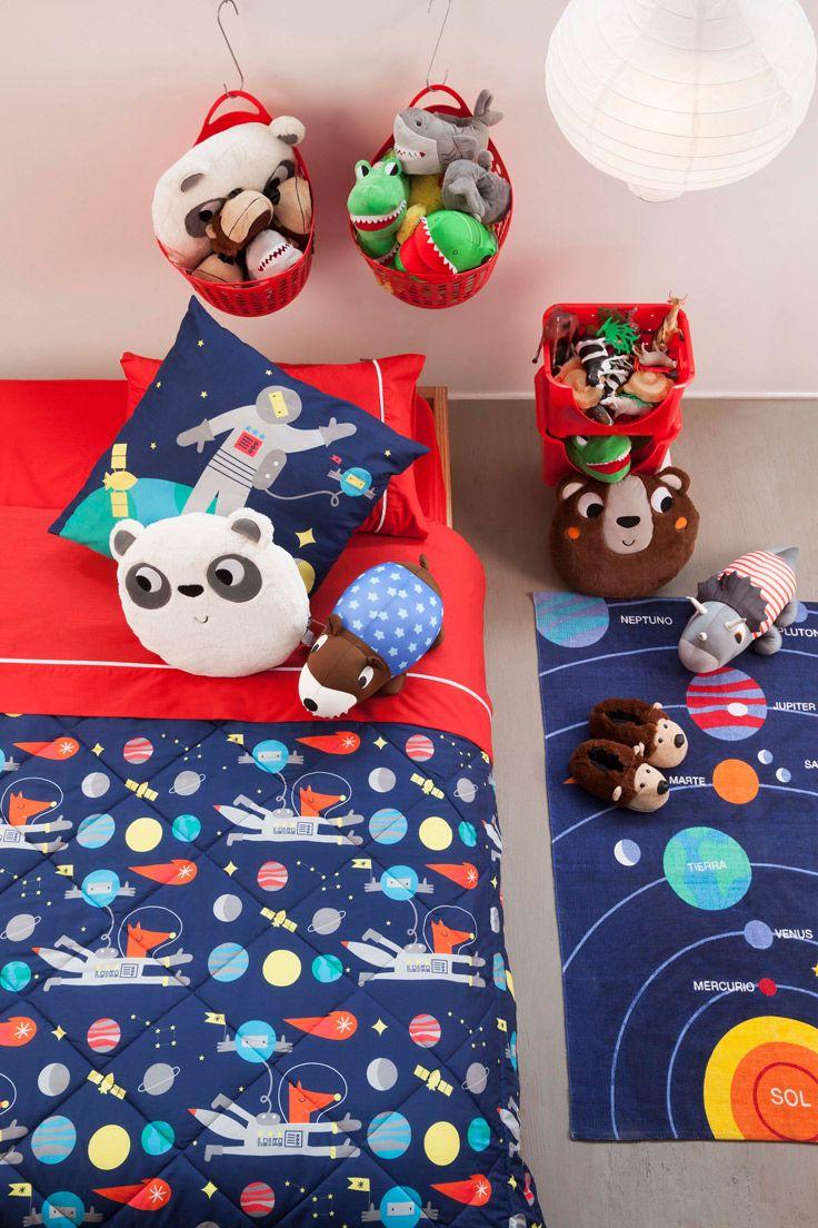 Crea un mundo de fantasía en la pieza de los niños. Un espacio donde puedan jugar e imaginar historias increíbles. Verano 2016