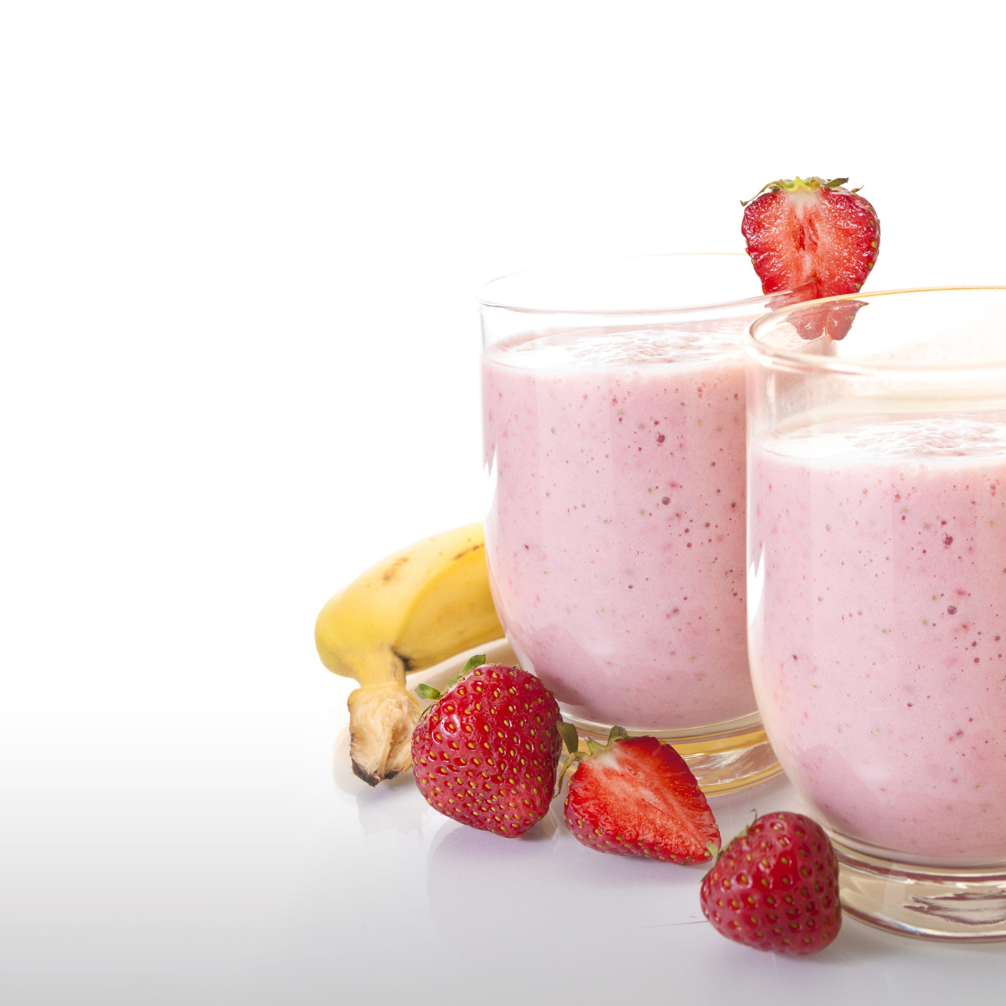 Strawberry Milkshake Wallpaper Hd