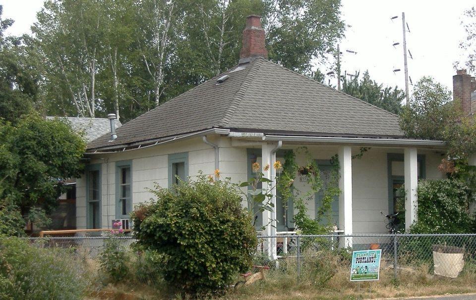 3. Bungalow Hip roof, Porch gable, House roof