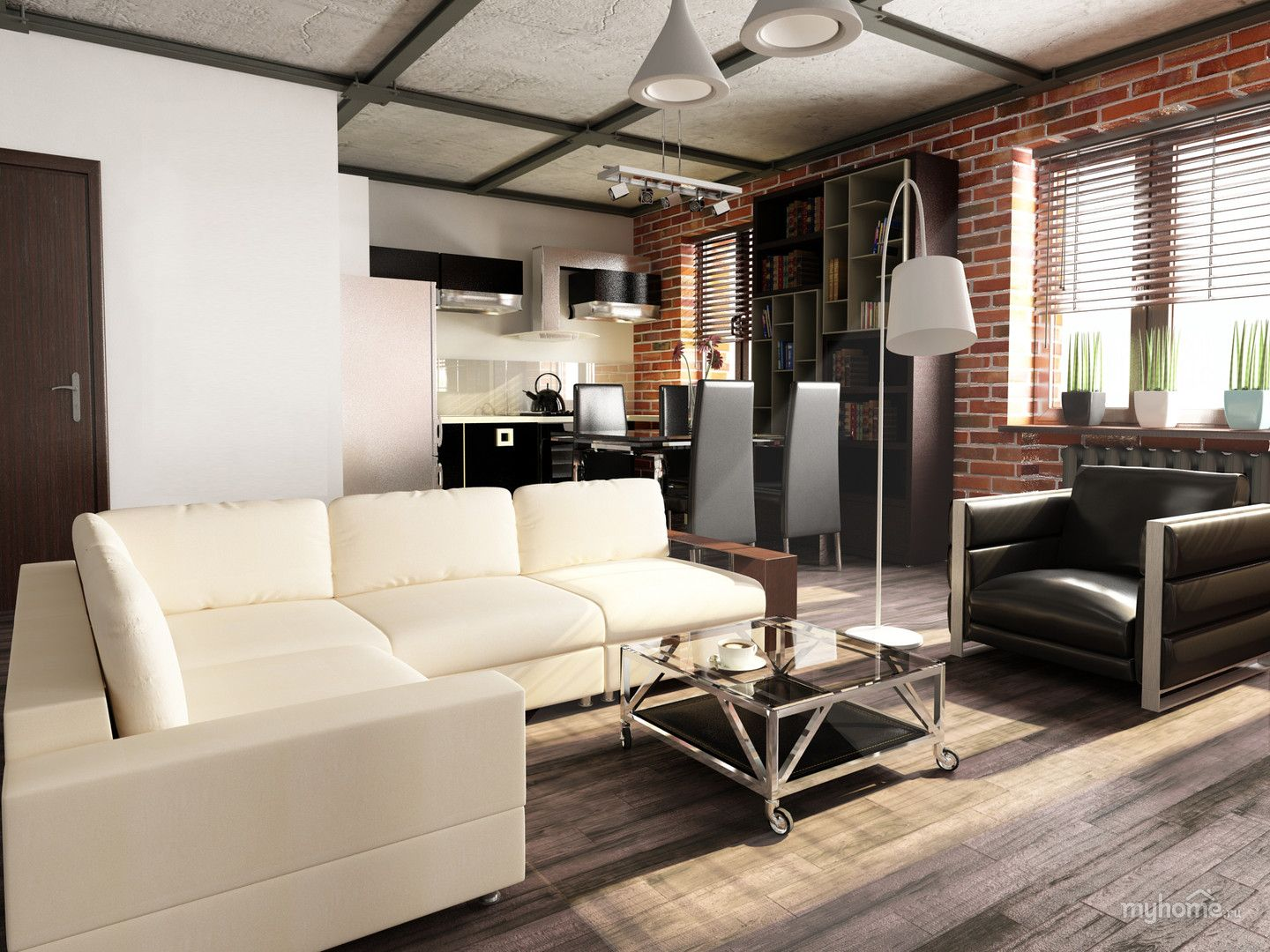 1000+ images about Лофт/loft on pinterest | industrial interior, Wohnideen design