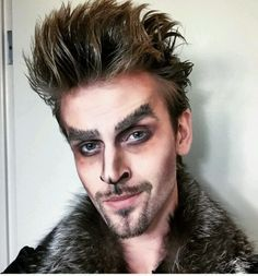 image result for werewolf halloween makeup men