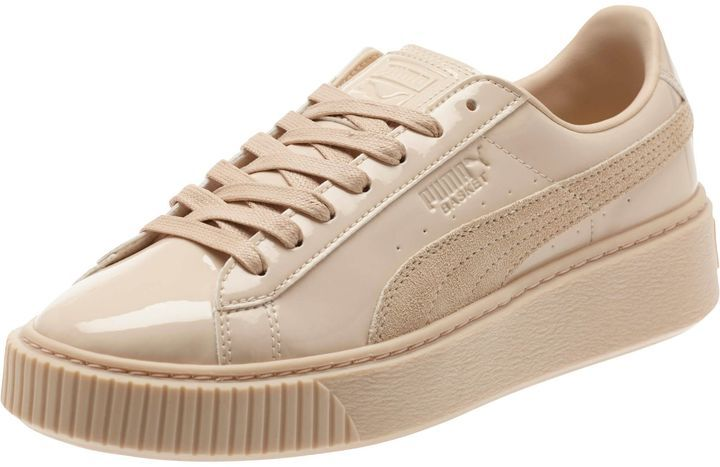 Basket Platform Patent Women's Sneakers | Sneakers