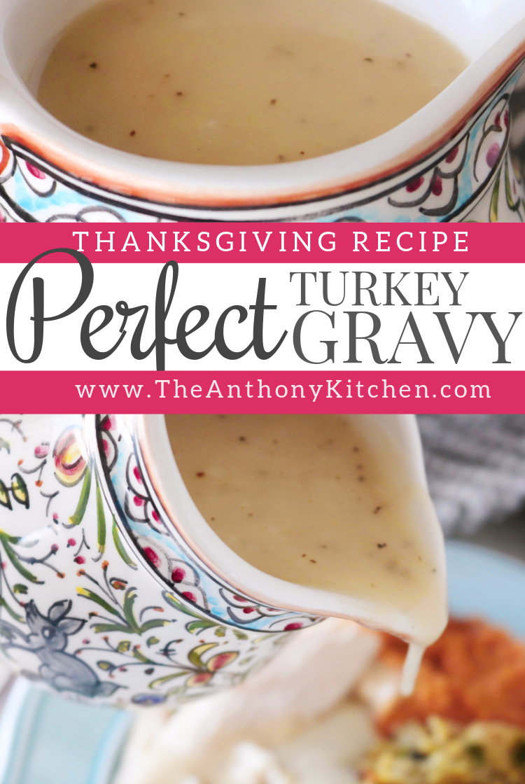 How to Make a Simple Turkey Gravy | Recipe - The Anthony Kitchen