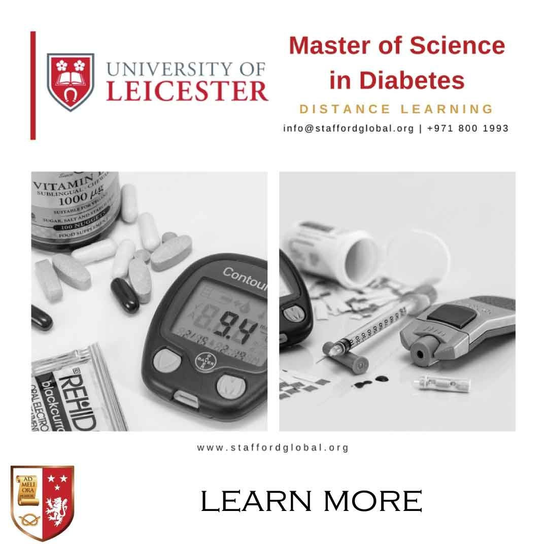Masters in Diabetes Education Distance learning