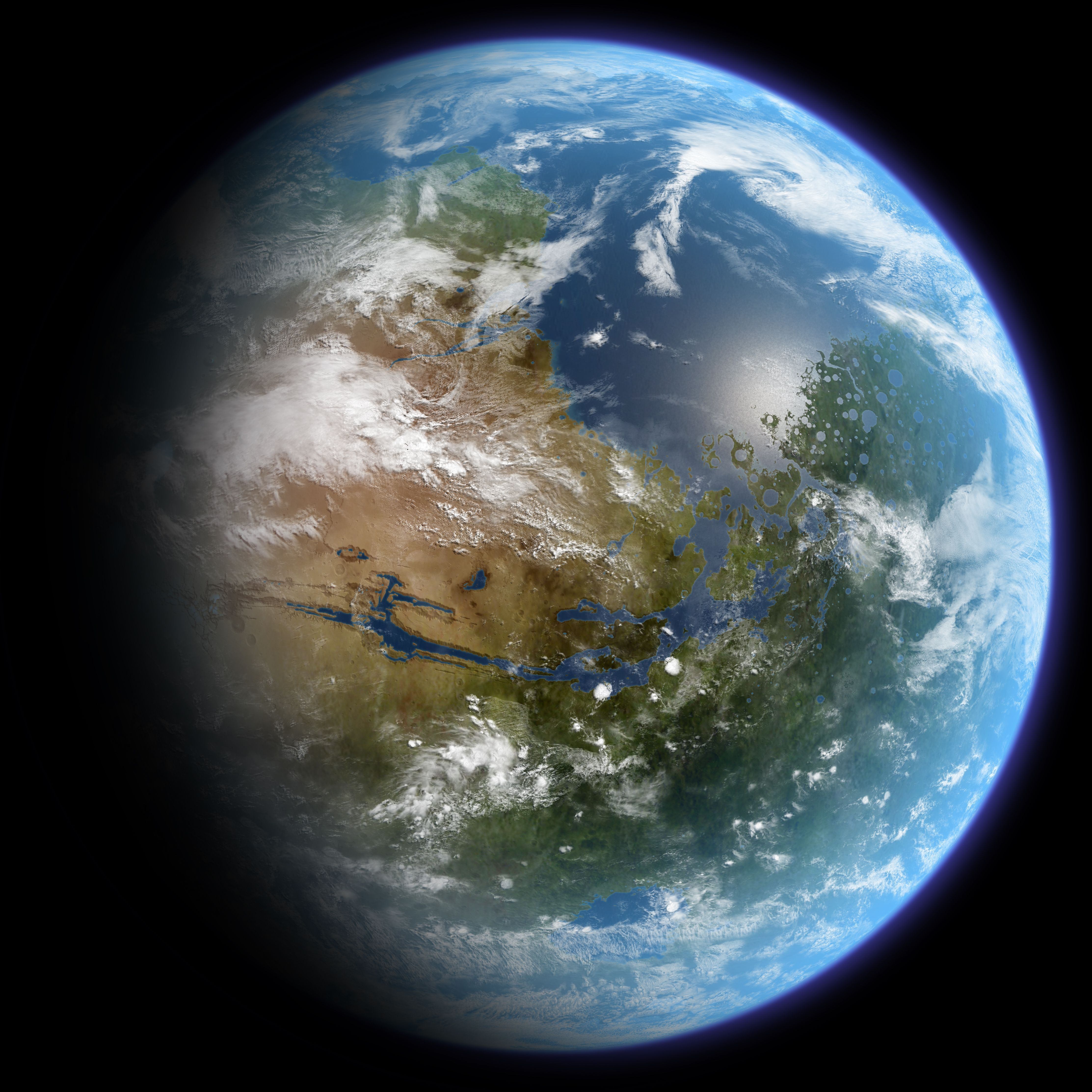 Destiny Of Destruction A Short Story By Cam Mars Atmosphere Planets Earth From Space