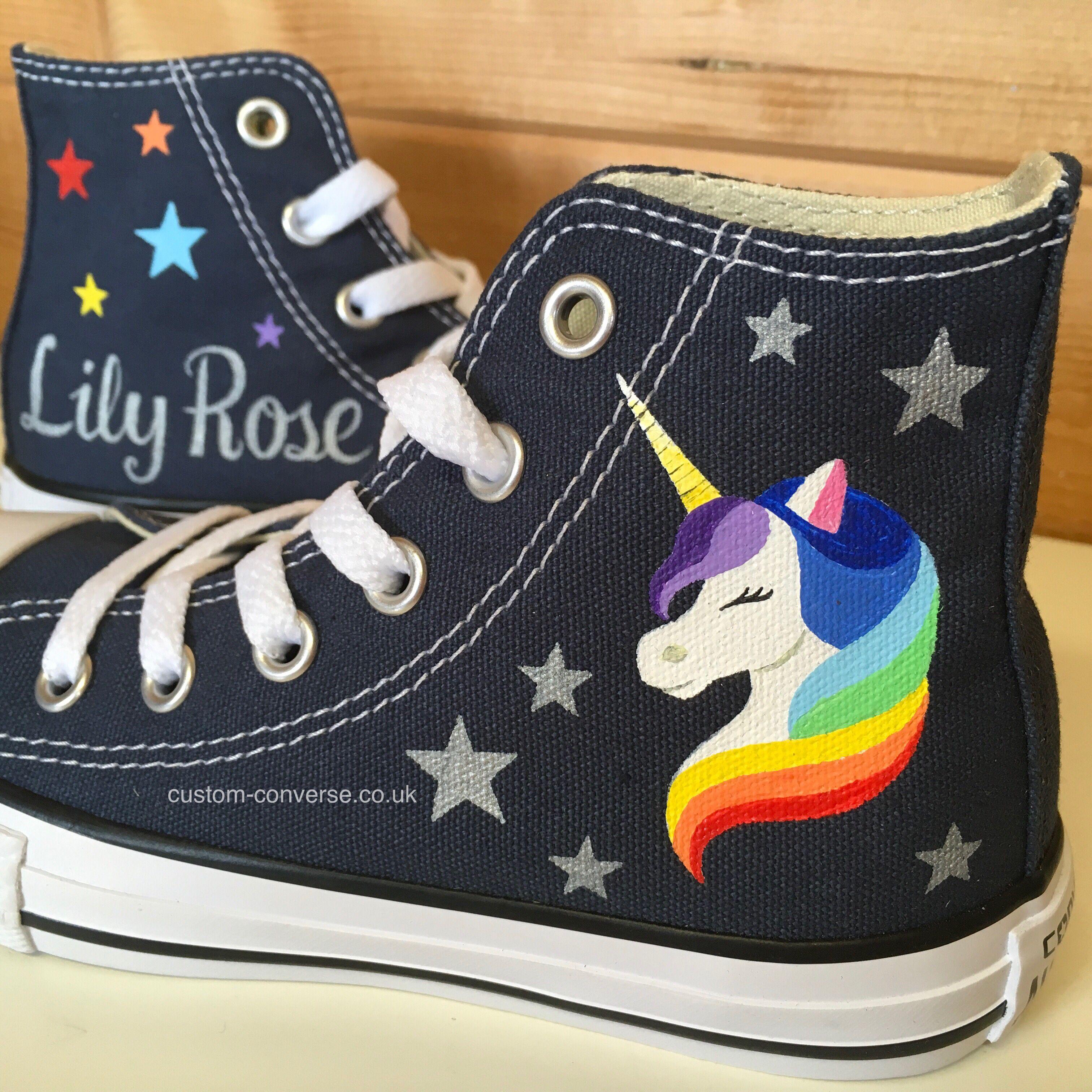 Kids Personalised Rainbow Unicorn