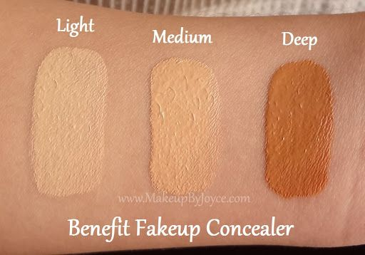 Swatches: Benefit Fakeup Hydrating Crease-Control Concealer + Coupon ...