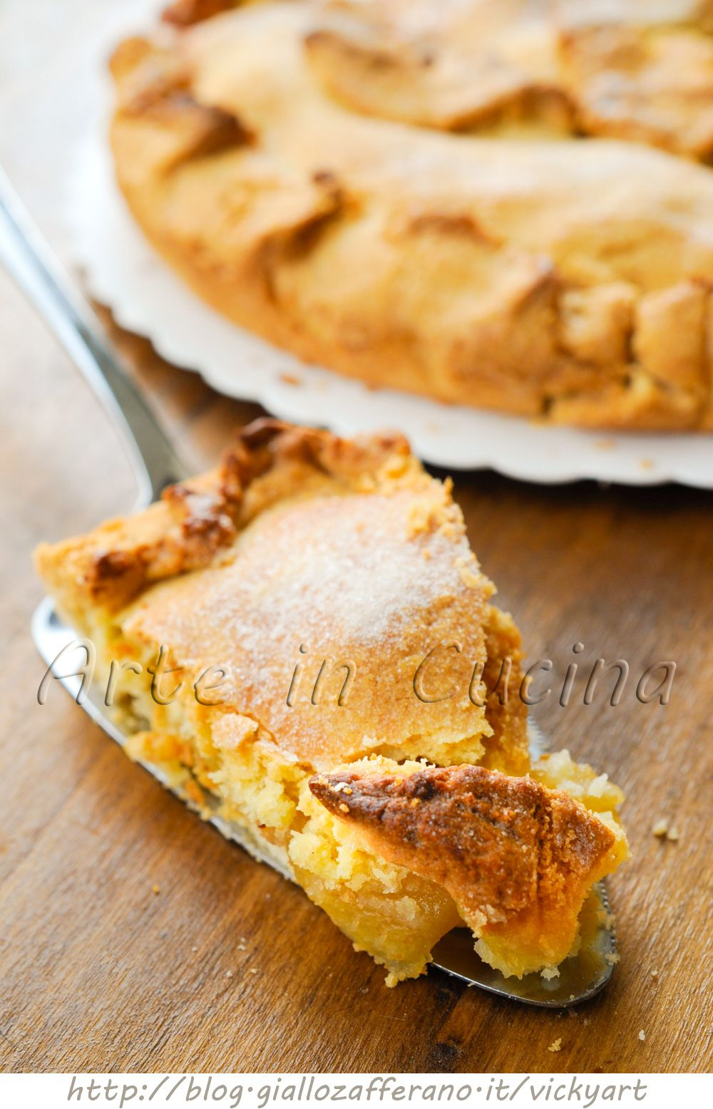 Torta di mele inglese ricetta facile | Pie, Apples and Cake