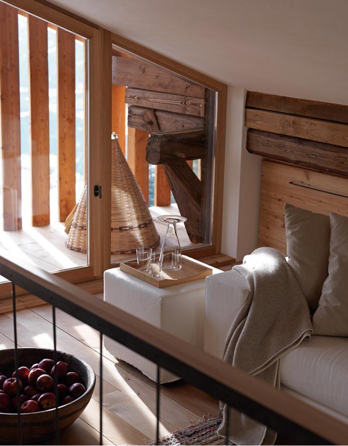 Una casa rustica moderna rustico interior design for Casa moderna rustica