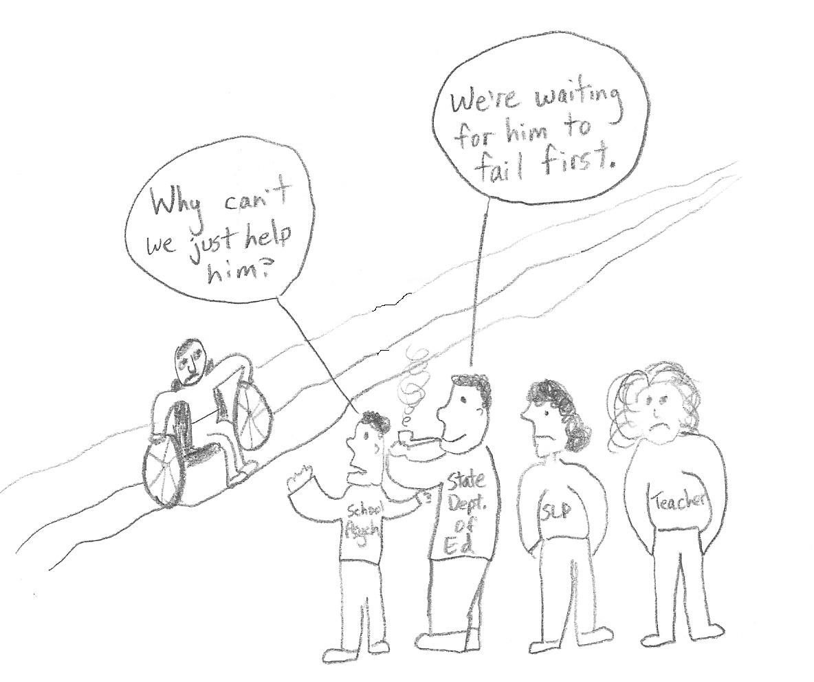 Political Cognitive Referencing Cartoon