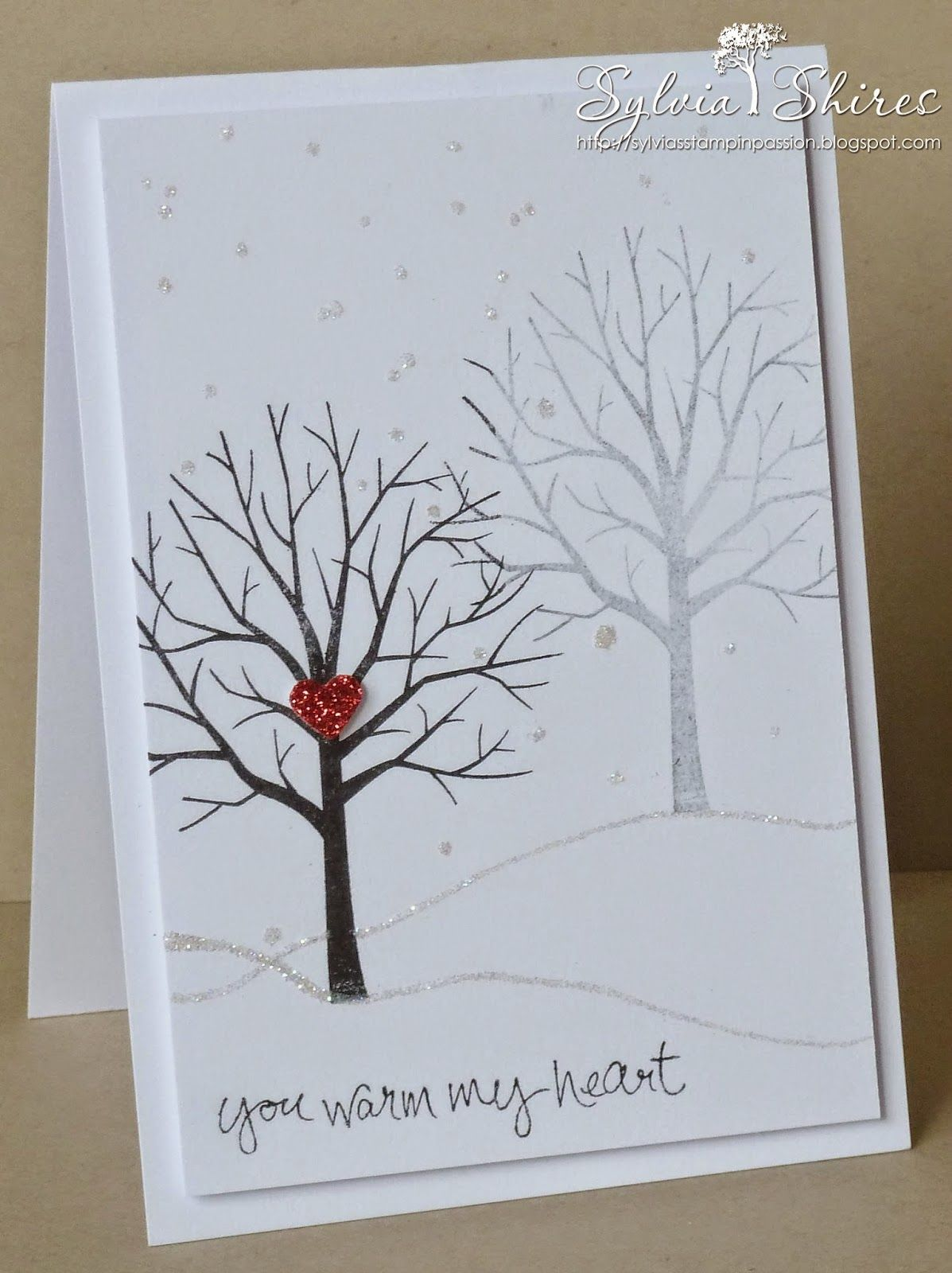 Sylvias Stampin Passion A Sale A Bration Sheltering Tree