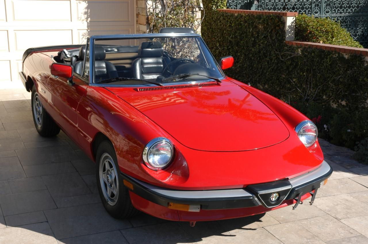 1986 Alfa Romeo Spider Veloce Alfaromeoclassiccars Used Bmw Alfa Romeo Spider Alfa Romeo Spider Veloce