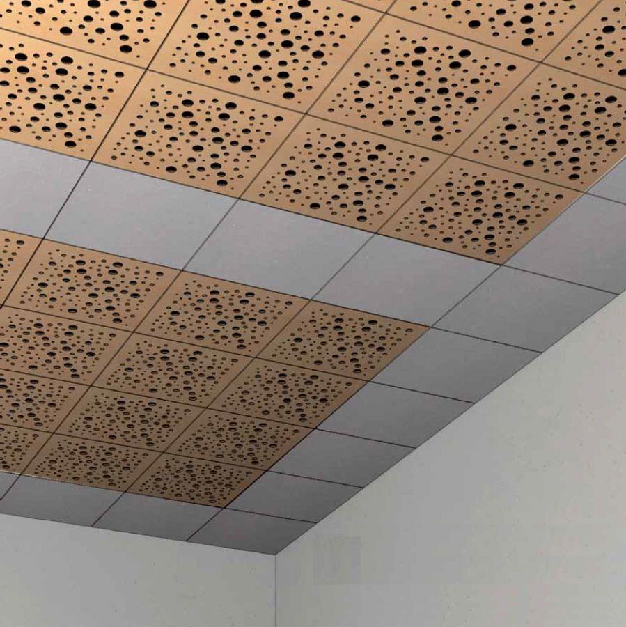 Loseta acustica perforada de madera para falso techo 57956 - Techos falsos de madera ...