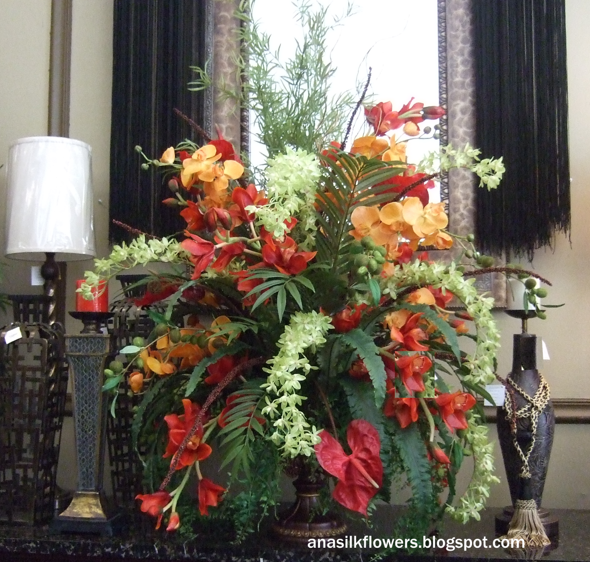 Elegant silk flower arrangements why artificial silk flowers ana silk flowers ideas and inspiration beautiful and luxury tropical silk flowers arrangements mightylinksfo Gallery