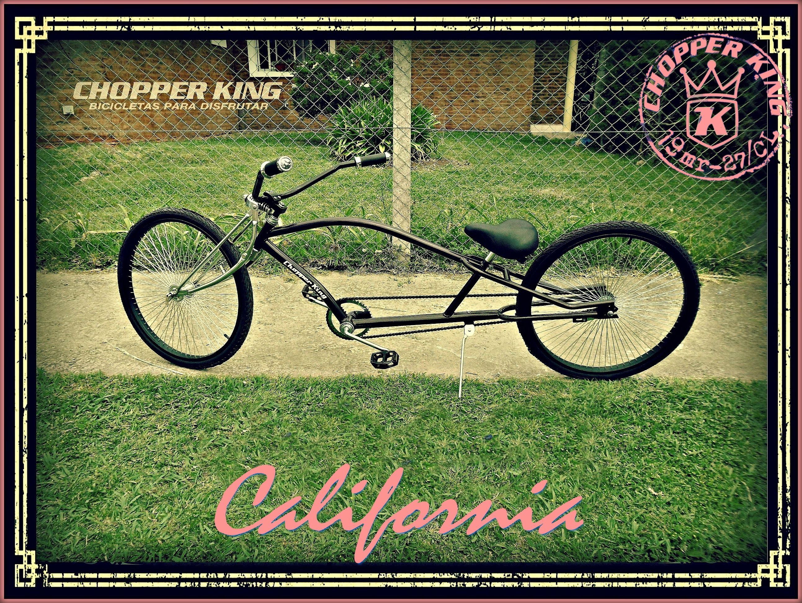 Chopper King California La Versión Low Rider De Chopper King Para Los Que Aman Ir Mas Cerca Del Suelo Nuevamente La Relación Entr Low Rider Chopper Piñones
