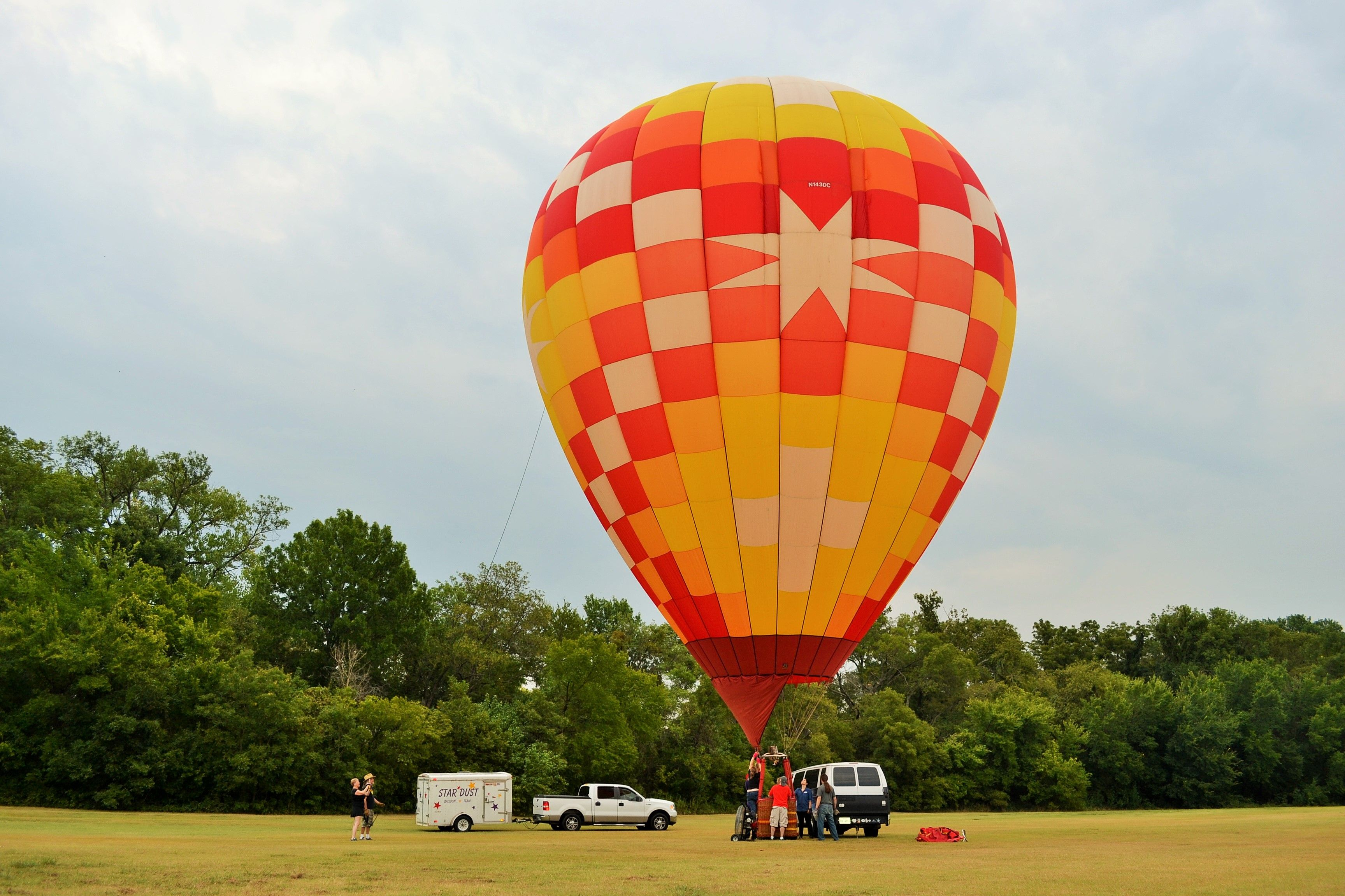 Champion's Starburst flown by owner and pilot Marion