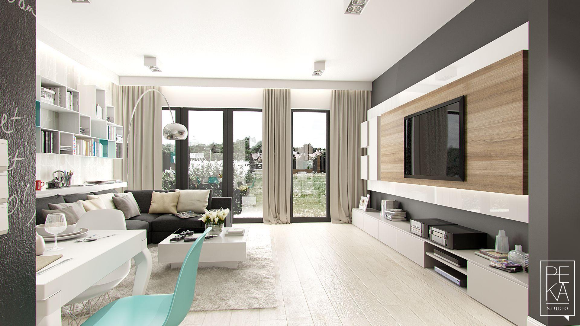 Living room by PEKA STUDIO MODERN