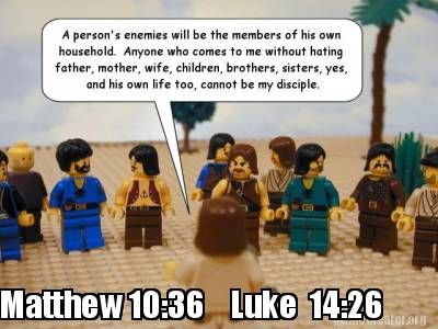 Funny Meme Upload : Meme creator matthew 10:36 luke 14:26 erehe pinterest luke