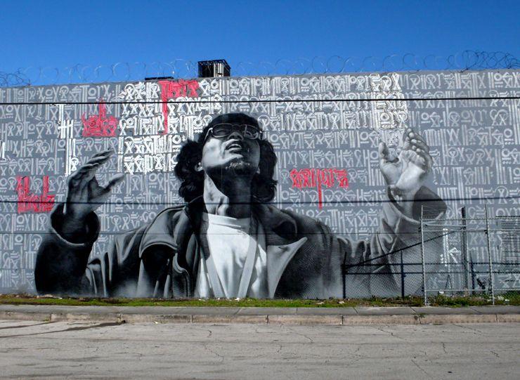 The Conductor  El Mac and Retna collaboration #elmac #retna #streetart