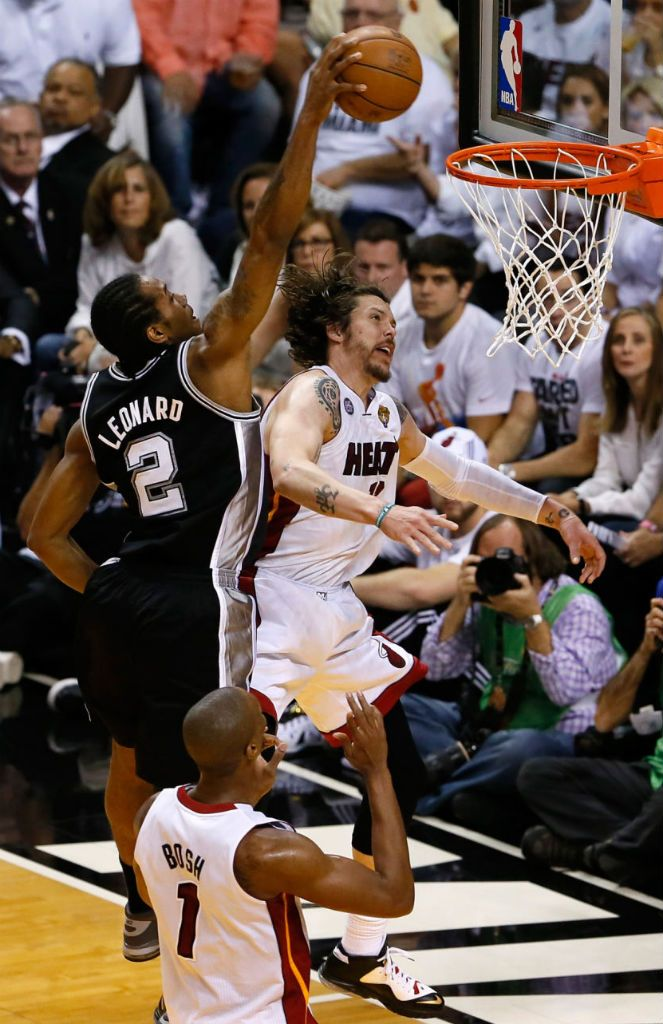 Kawhi Leonard Posterizes Mike Miller In Nike Air Force Max 2013. Nba  ChampionshipsSan Antonio SpursCat ...