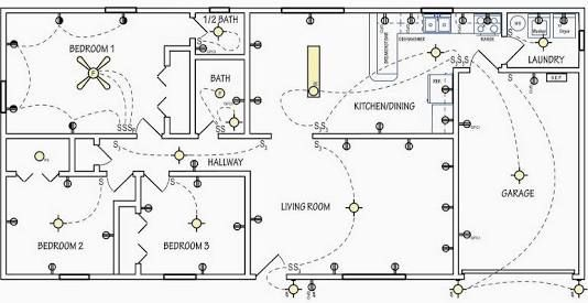 Image Result For Electrical Symbols For House Wiring Pdf Home Electrical Wiring House Wiring Electrical Wiring
